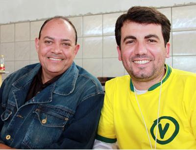 Geraldo do Espinhaço e Gustavo Prandini