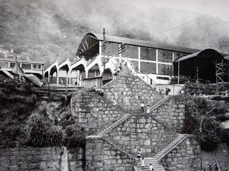 Escadão que dava acesso a cidade alta 1938