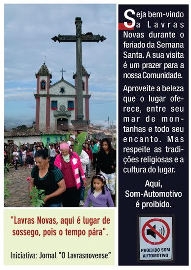 Cartaz Semana Santa